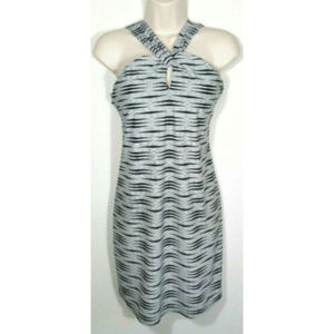 ATHLETA Pullover Printed Kiki Swim Dress 2480E1